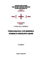 prikaz prve stranice dokumenta Poznavanje BLS i AED smjernica studenata  Sveučilišta Sjever